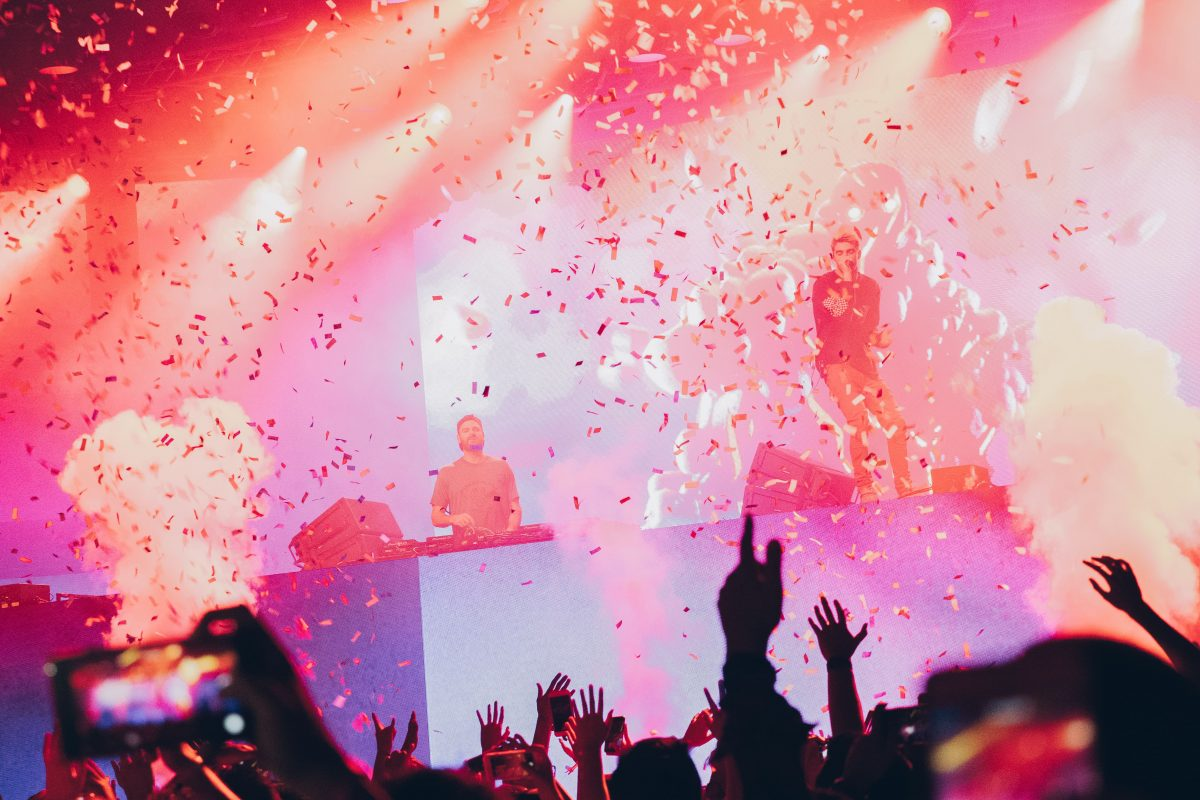 Mastercard Chainsmokers Octagon - Singapore experiential 10