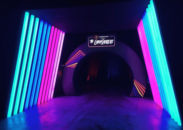 Mastercard Chainsmokers Octagon - Singapore experiential 3