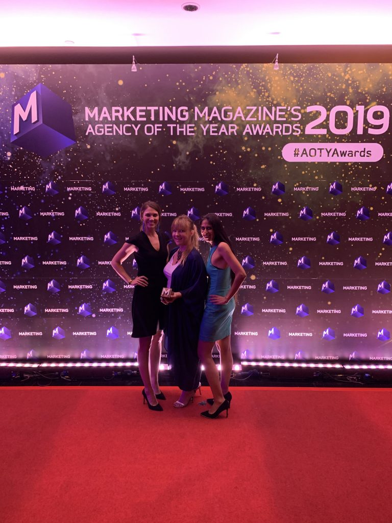 Marketing Magazine AOTY - Experiential Agency - Rebel & Soul