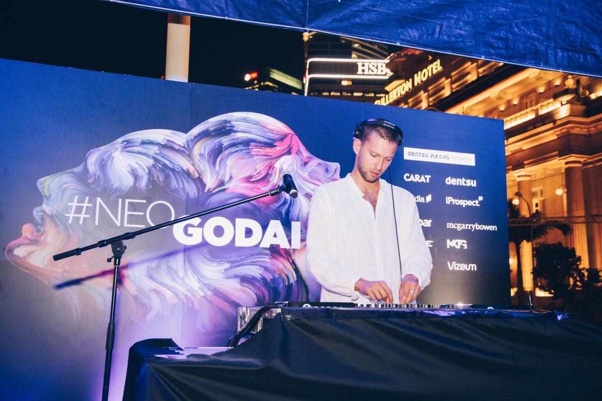 Dentsu NeoGodai - DJ