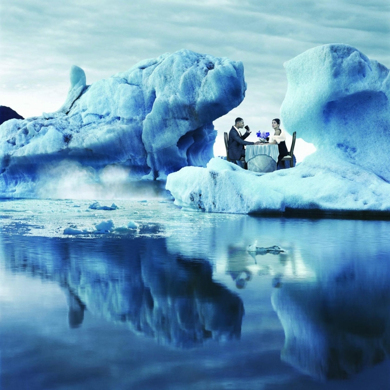 Quintessentially Lifestyle Management - Experience Hunter - Dinner on iceberg