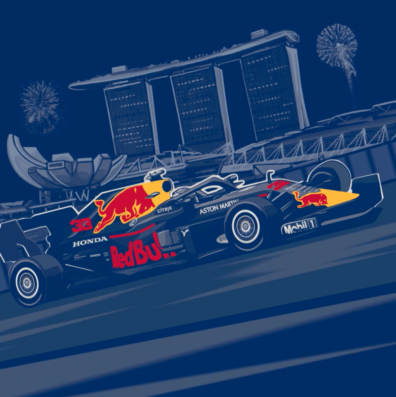 2019 Red Bull x Formula 1 race in Singapore