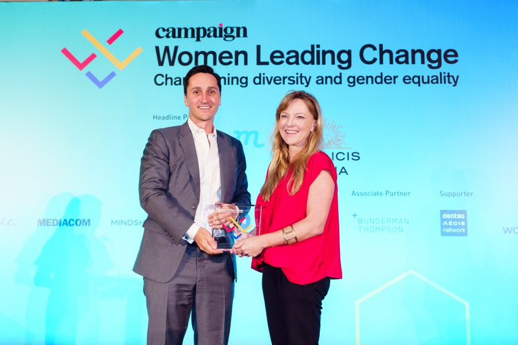 2019 Campaign Women Leading Change Awards - Kristy Castleton - Entrepreneurship of the Year 2