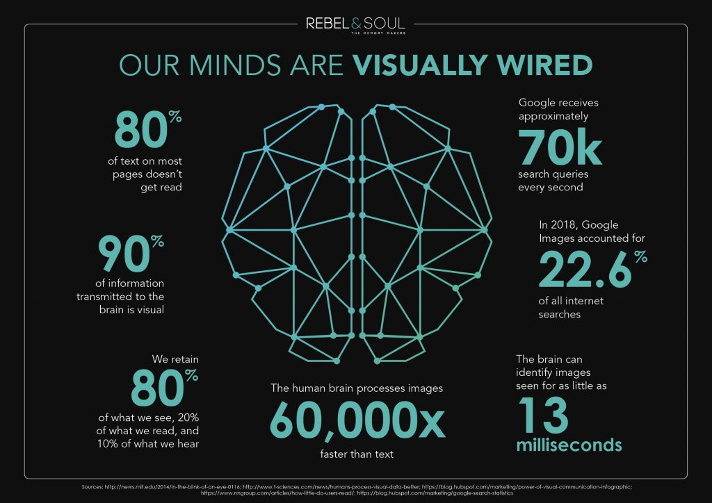 brain is visually wired