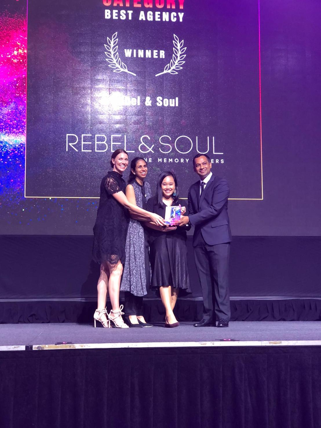 The Special Events Asia - Best Brand/Creative Agency - Rebel & Soul