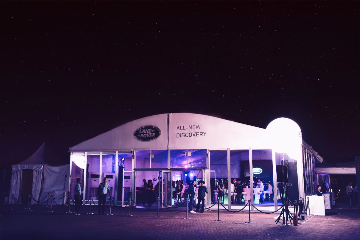 Land Rover Discover Launch Singapore - VIP party night