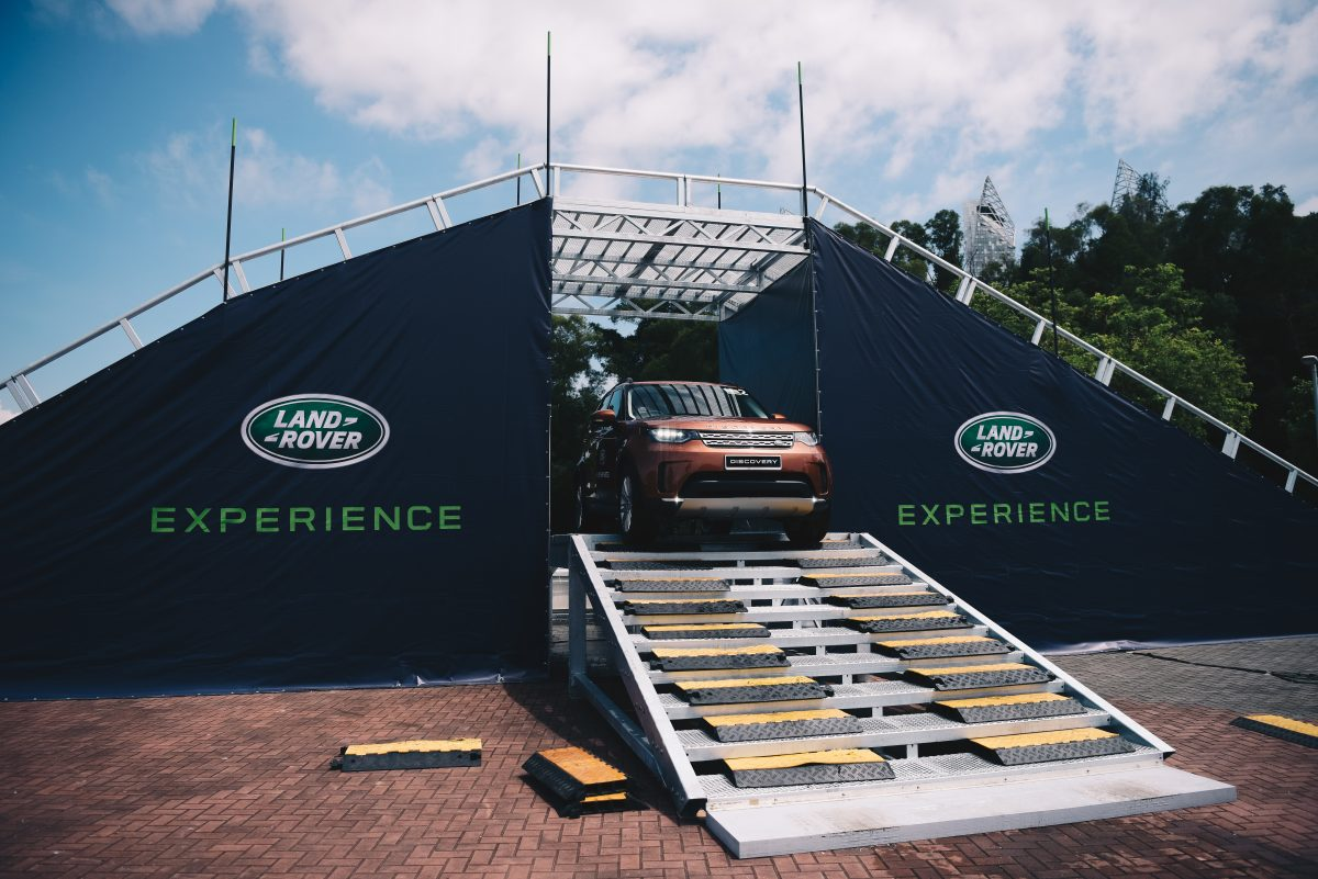 Land Rover Discover Launch Singapore - All terain test drive