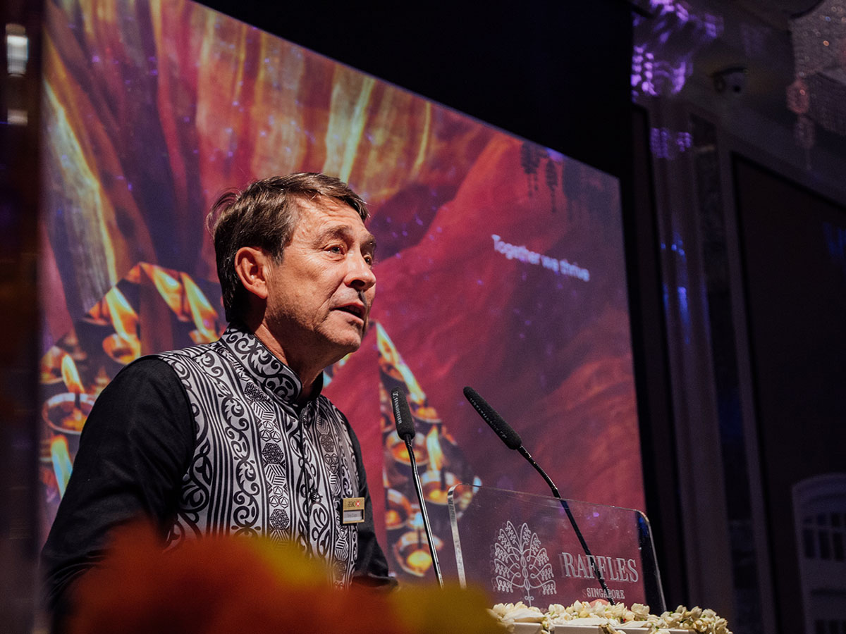 Tony Cripps Diwali festival