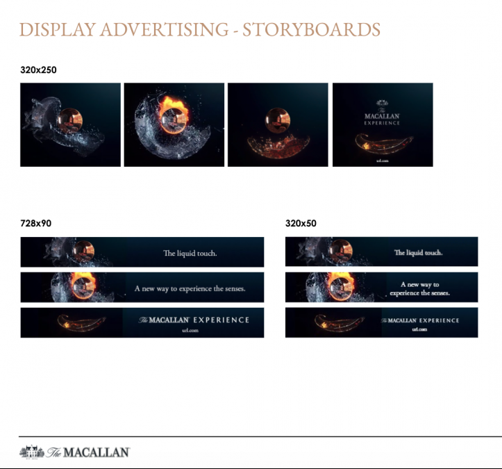 The Macallan Experience - APAC Marketing Toolkit - Display Advertising Guidelines