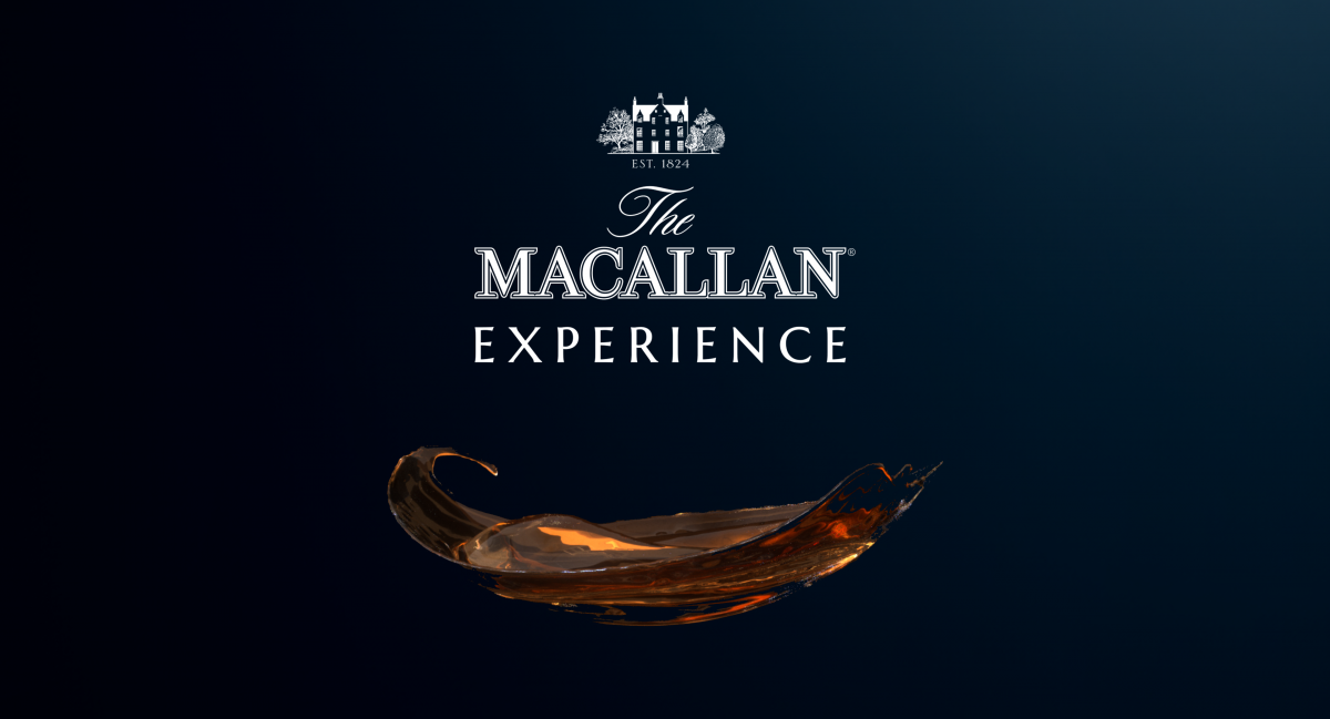 The Macallan Experience - Key Visual Campaign Asset, whisky end frame