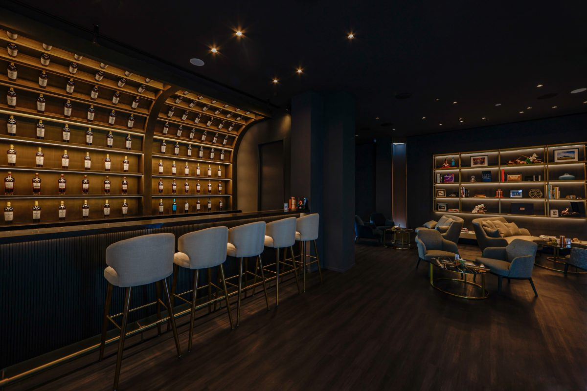 The Macallan Experience - gravity defying bar & whisky lounge