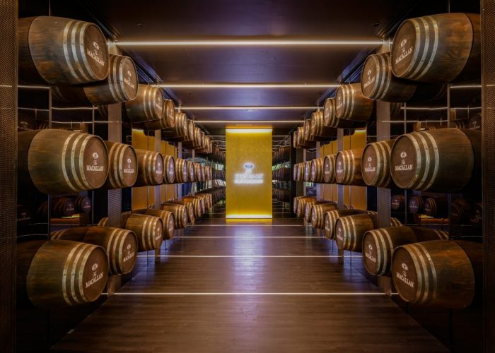 The Macallan Experience at Raffles Hotel Singapore - Infinity Cask Tunnel