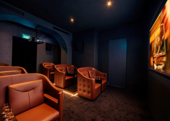The Macallan Experience at Raffles Hotel Singapore - Sensory Cinema