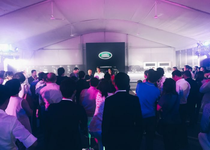 Land Rover Discover Launch Singapore - VIP party