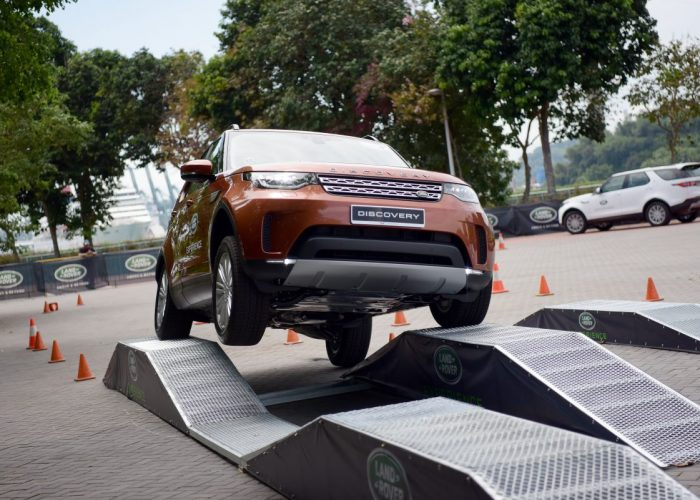 Land Rover Discover Launch Singapore - Test Drive