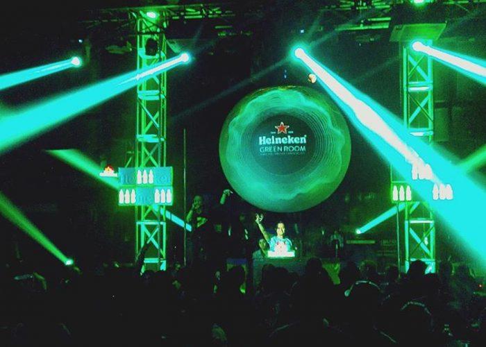 Heineken Arcade - See The Music - Experiential