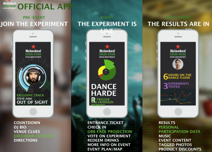 Heineken Arcade - See The Music - Mobile App