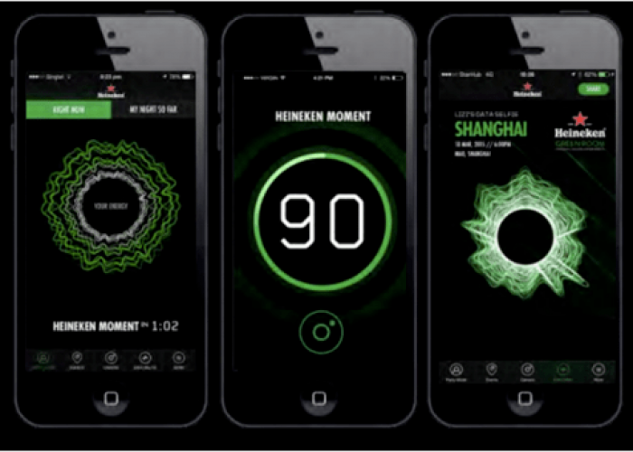 Heineken Arcade - See The Music - Screenshot Mobile App
