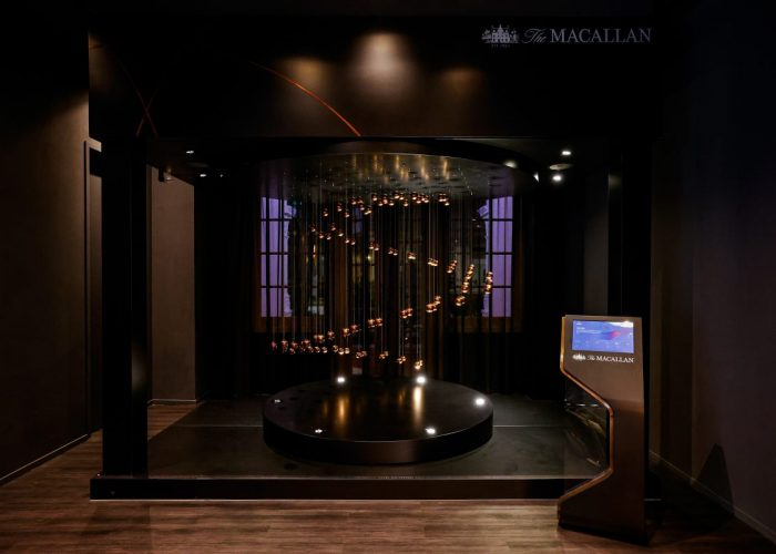 The Macallan Experience at Raffles Hotel Singapore - Kinetic Art Installation